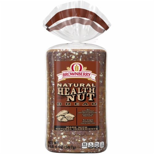 Brownberry Natural Health Nut Bread Perspective: front