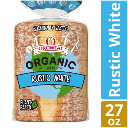 Oroweat Organic Rustic White Bread Perspective: front
