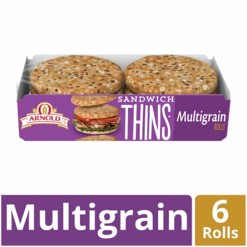 Arnold® Multigrain Sandwich Thins Perspective: front