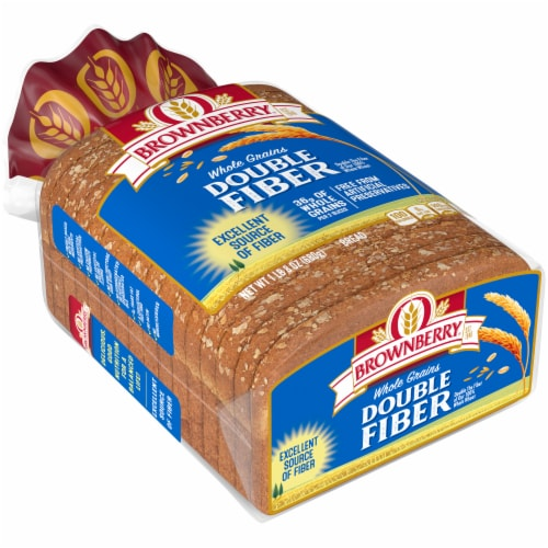 Brownberry Whole Grains Double Fiber Bread Perspective: front