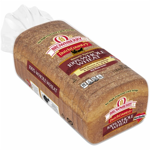 Brownberry Dutch Country 100% Whole Wheat Bread Perspective: front