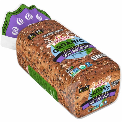 Oroweat Organic Sweet Baby Grains Thin Sliced Bread Perspective: front