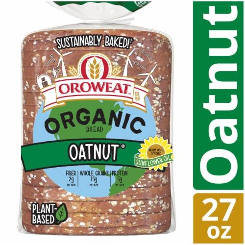 Oroweat® Organic Oatnut Bread Perspective: front