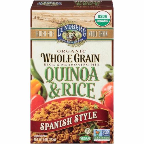 Lundberg Organic Spanish Style Quinoa & Rice Blend Perspective: front