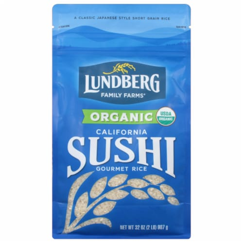 Lundberg Organic California Sushi Rice Perspective: front