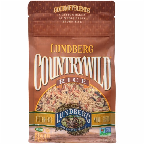 Lundberg Countrywild Gourmet Blends Whole Grain Rice Perspective: front
