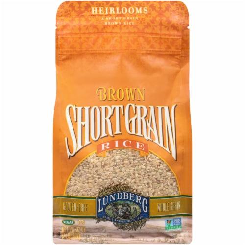 Lundberg Short Grain Brown Rice Perspective: front