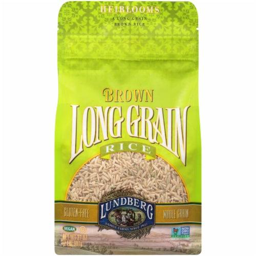 Lundberg Long Grain Brown Rice Perspective: front