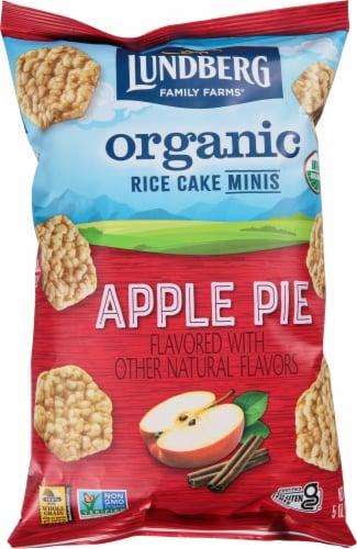 Lundberg Family Farms Organic Gluten-Free Apple Pie Rice Cake Minis Perspective: front
