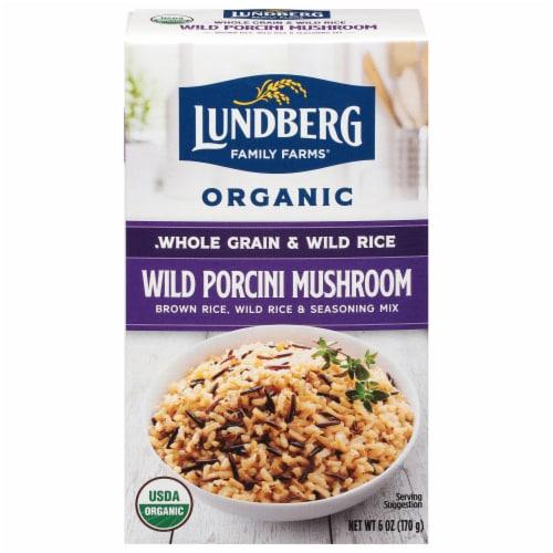 Lundberg Organic Wild Rice Mix Perspective: front