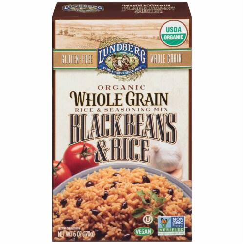 Lundberg Organic Whole Grain Black Beans & Rice Seasoning Mix Perspective: front