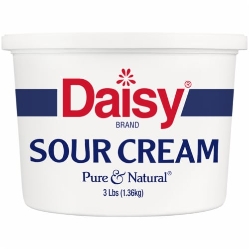 Daisy Pure & Natural Sour Cream Perspective: front