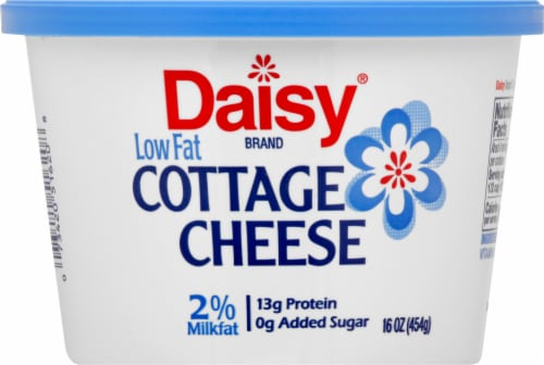 Daisy Low Fat Cottage Cheese Perspective: front