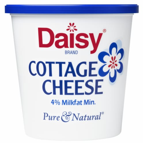 Daisy Cottage Cheese Perspective: front