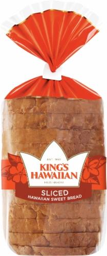 King's Hawaiian Sweet Sliced Bread Perspective: front