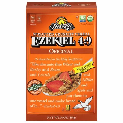 Food For Life Ezekiel Original Cereal Perspective: front