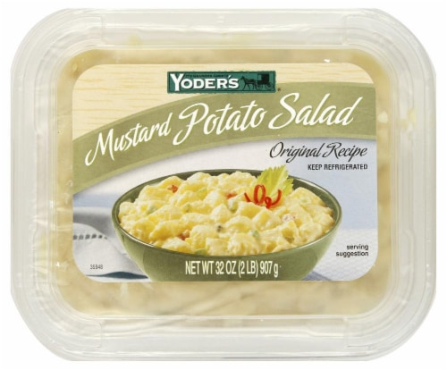 Yoder's Mustard Potato Salad Perspective: front