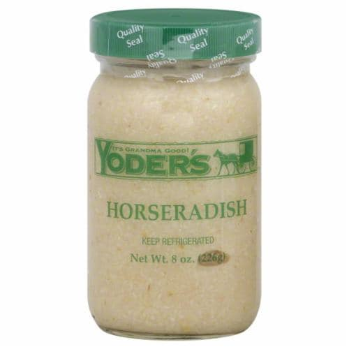 Yoder's Horseradish Perspective: front
