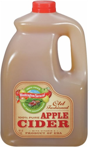 Washington Natural Old Fashioned Apple Cider Perspective: front