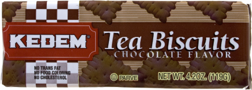 Kedem Chocolate Tea Biscuits Perspective: front