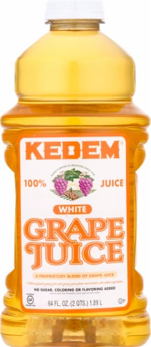 Kedem White Grape Juice Perspective: front