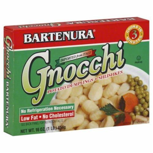 Bartenura Gnocchi Potato Dumplings Perspective: front