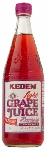 Kedem Light Grape Juice Perspective: front