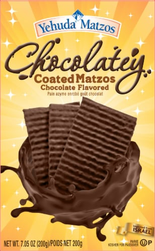 Yehuda Chocolatey Coated Matzos Perspective: front