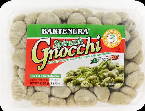 Bartenura Potato Gnocchi with Spinach Perspective: front