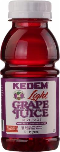 Kedem Light Grape Juice Beverage Perspective: front