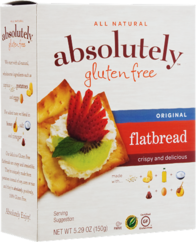 Absolutely Gluten Free Original Flatbread Perspective: front