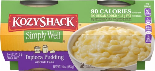 Kozy Shack Simply Well Tapioca Pudding Perspective: front