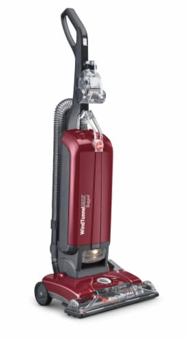 Hoover® WindTunnel® MAX Upright Vacuum Cleaner - Red/Black Perspective: front
