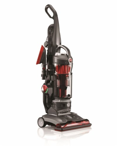 Hoover® WindTunnel 3 High Performance Pet Vacuum - Red/Black Perspective: front
