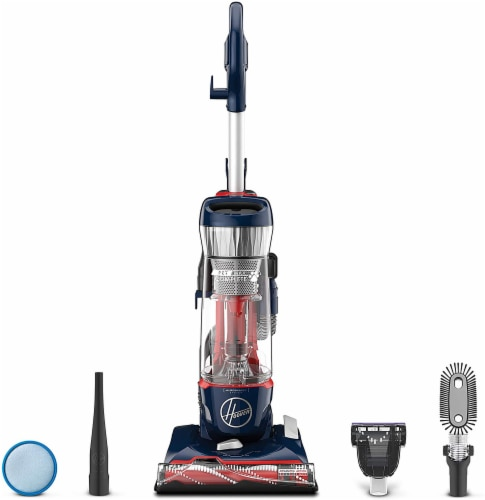 Hoover® Pet Max Bagless Upright Vacuum With Attachments Perspective: front