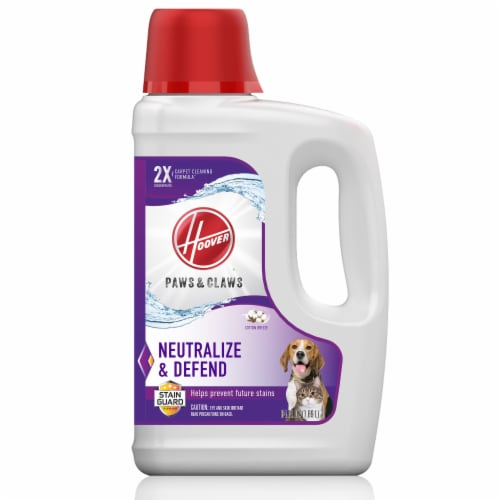 Hoover® Paws & Claws Carpet Cleaning Formula with Stainguard Perspective: front