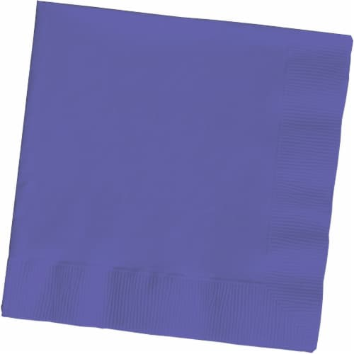 Creative Converting Lunch Napkins - Purple Perspective: front