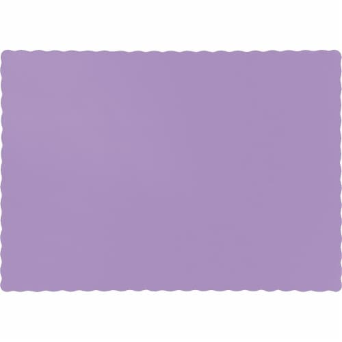 Creative Converting 863265B Placemat Case of 12 Perspective: front