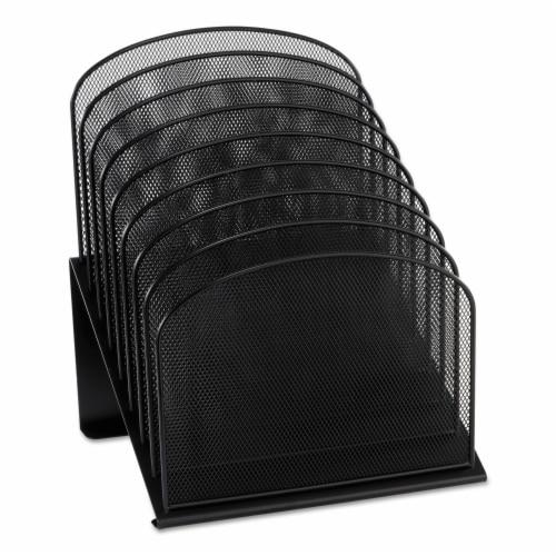 Safco Mesh Desk Desktop Organizer 3258BL Perspective: front