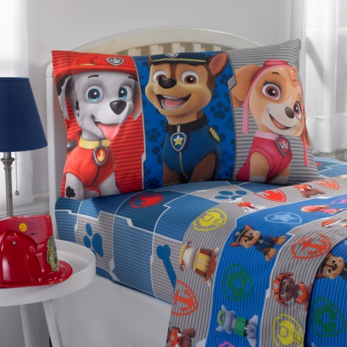 Paw Patrol Twin Sheet Set Perspective: front