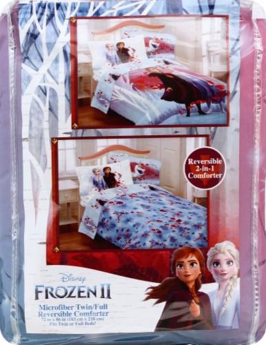 Frozen 2 Microfiber Reversible Comforter Perspective: front