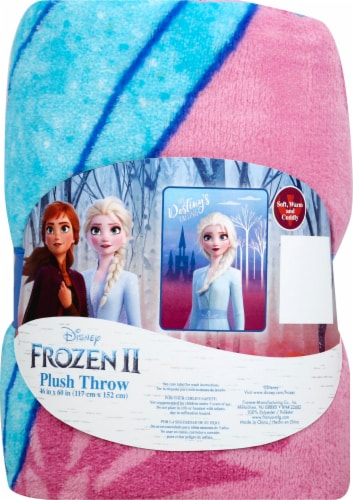 Frozen 2 Plush Throw Perspective: front