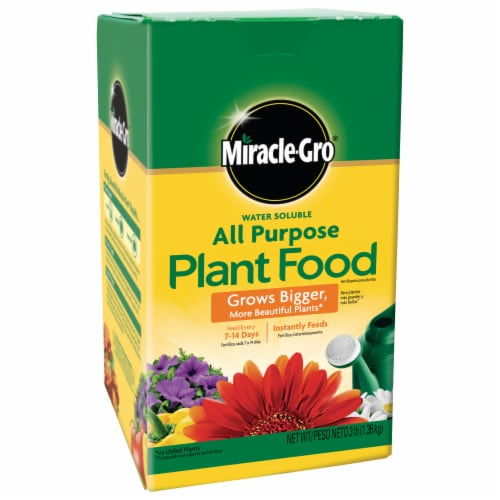 Miracle-Gro Water Soluble All-Purpose Plant Food Perspective: front