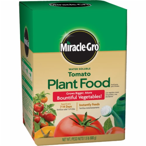 Miracle-Gro Water Soluble Tomato Plant Food Perspective: front