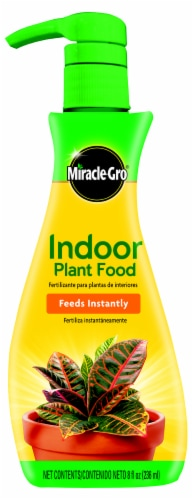 Miracle-Gro Indoor Plant Food Perspective: front