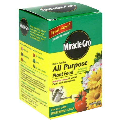 Miracle-Gro All Purpose Plant Food Perspective: front