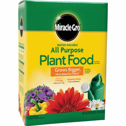 Miracle-Gro Water Soluble All Purpose Plant Food Perspective: front