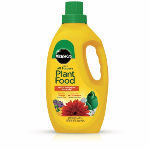 Miracle-Gro All Purpose Liquid Plant Food Concentrate Perspective: front