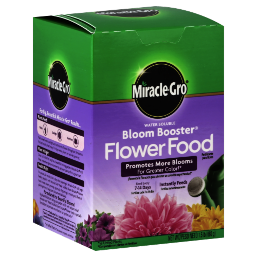 Miracle-Gro Bloom Booster Flower Food Perspective: front