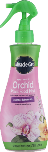Miracle Gro Orchid Plant Food Mist Perspective: front